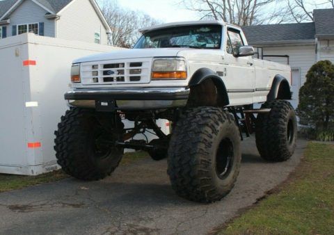 one of a kind 1992 Ford F 250 XLT offroad for sale