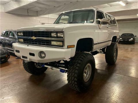rust free 1990 Chevrolet Blazer K5 Silverado offroad for sale