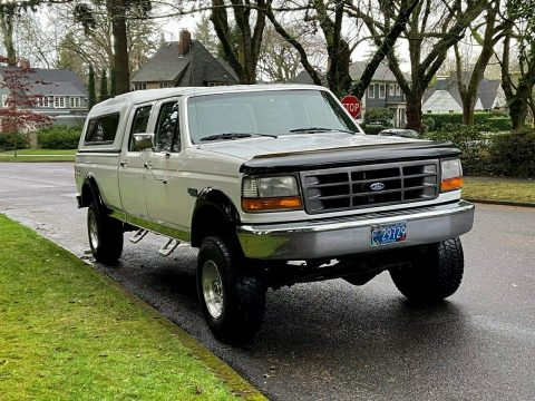 rust free 1995 Ford F 350 XL offroad for sale