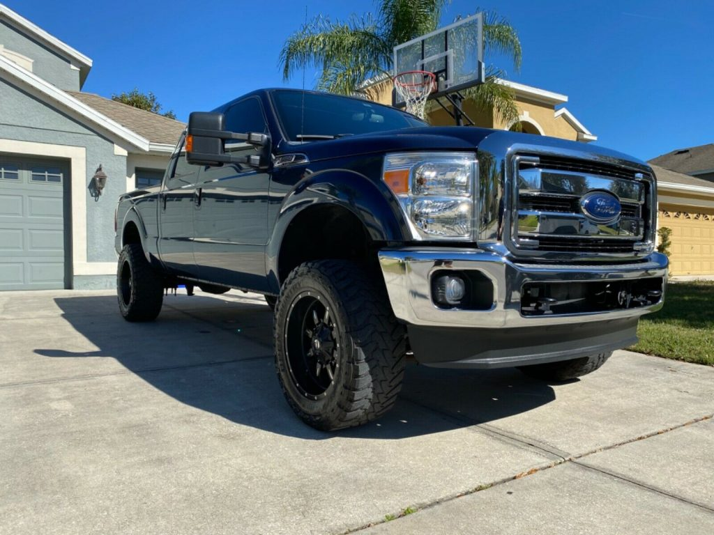 well optioned 2013 Ford F 250 Super DUTY offroad