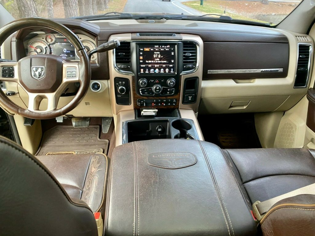 loaded with extras 2013 Dodge Ram 2500 Laramie Longhorn offroad