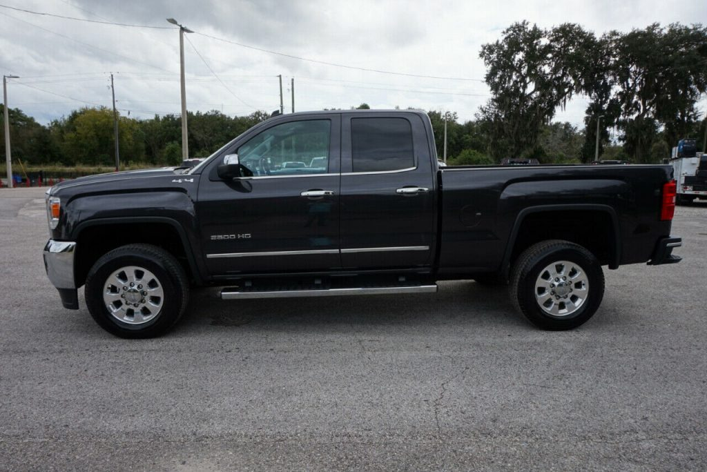 very clean 2015 GMC Sierra 2500 SLT offroad