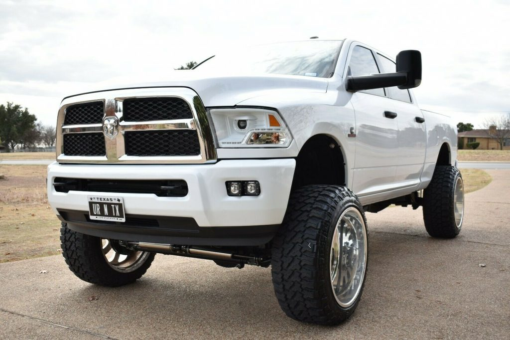 very clean 2016 Dodge Ram 2500 offroad