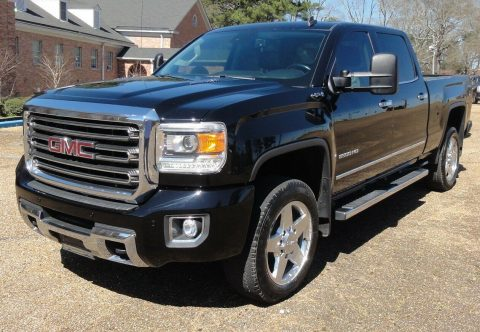 well equipped 2015 GMC Sierra 2500 SLT offroad for sale