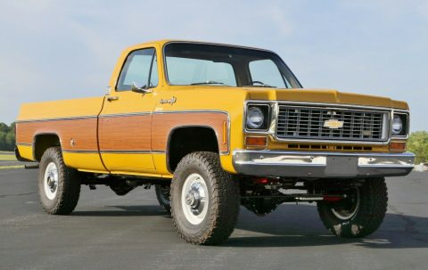 4×4 conversion 1973 Chevrolet C/K Pickup 3500 C20 offroad for sale