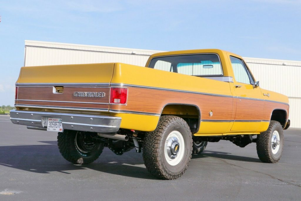 4×4 conversion 1973 Chevrolet C/K Pickup 3500 C20 offroad