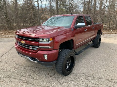 loaded with goodies 2016 Chevrolet Silverado 1500 LTZ offroad for sale