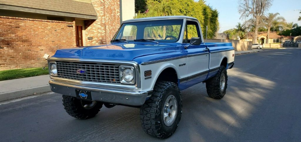 modified 1972 Chevrolet C/K Pickup 1500 K10 offroad