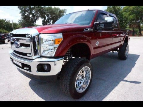 nice and clean 2016 Ford F 250 Lariat offroad for sale