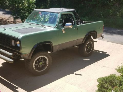rare 1978 Dodge Ramcharger 4×4 offroad for sale