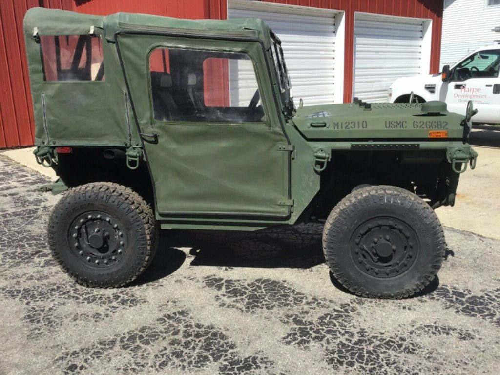 extremely cool 2011 General Dynamics M1163 offroad