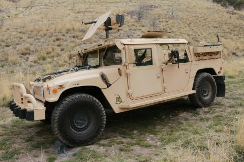 restored 2007 AM General Humvee GMV Hmmwv M1025 offroad for sale