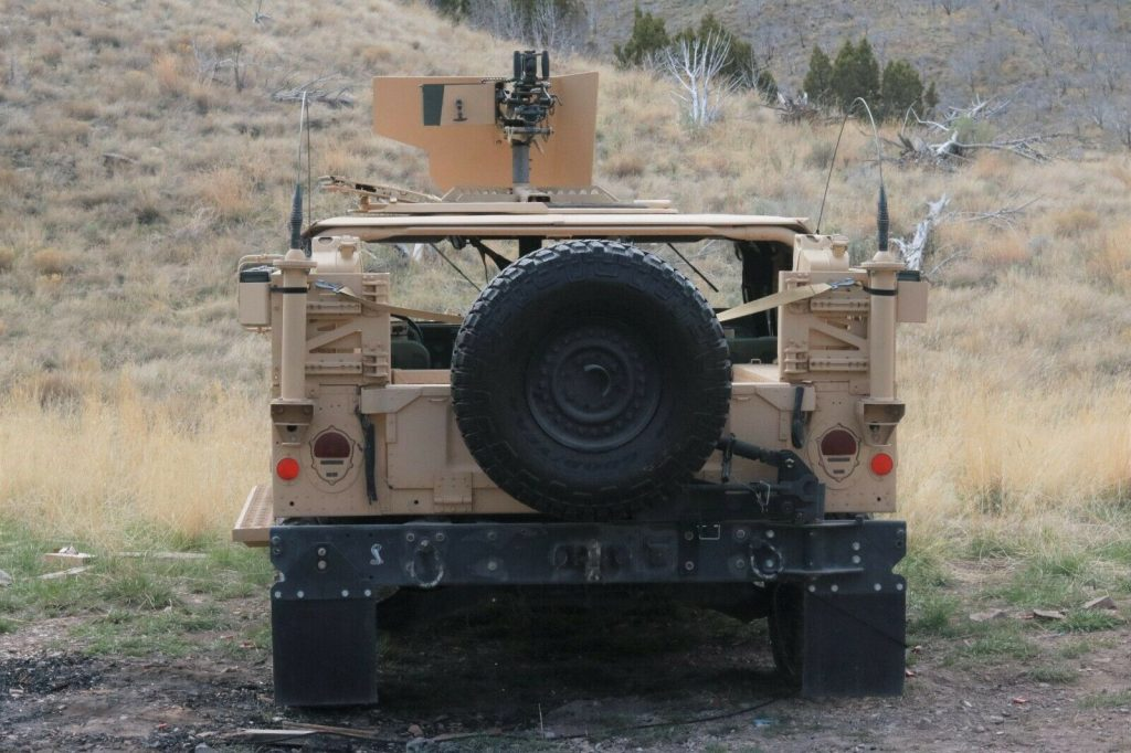 restored 2007 AM General Humvee GMV Hmmwv M1025 offroad