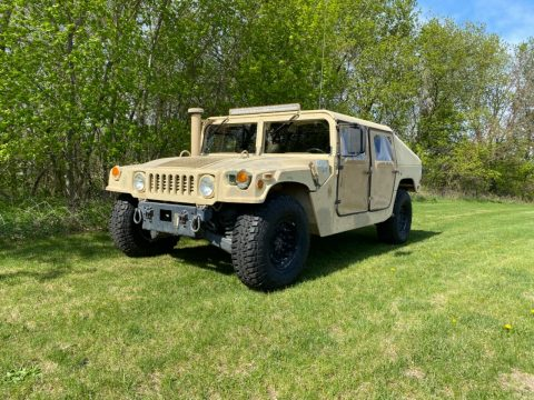 runs and drives 2001 AM General M1045a2 Hmmwv offroad for sale