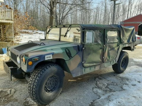 rust free 1989 AM General Humvee M1038 offroad for sale