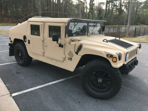 upgraded 2001 AM General M1045 A2 HMMWV offroad for sale
