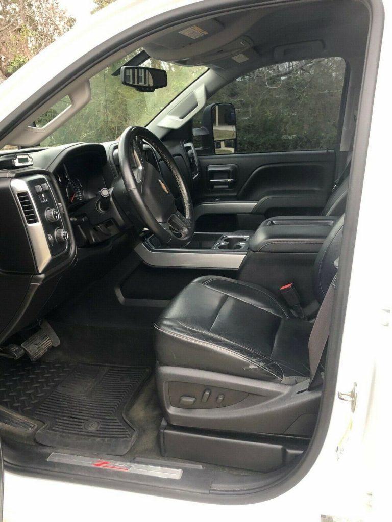 upgraded 2015 Chevrolet Silverado 2500 LTZ offroad