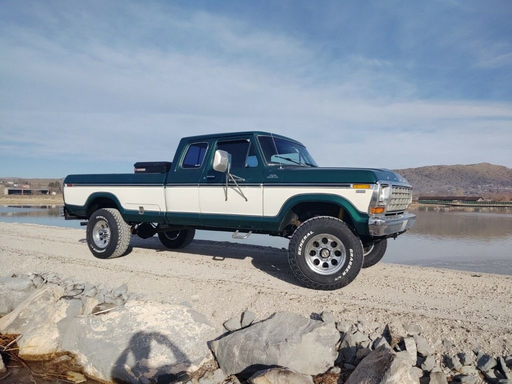 very nice 1978 Ford F 150 offroad