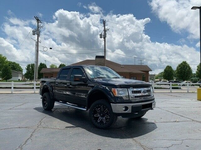 great shape 2013 Ford F 150 XLT offroad