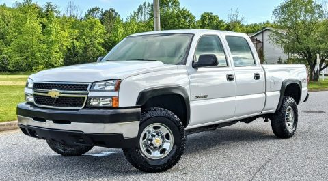 low miles 2006 Chevrolet Silverado 2500 offroad for sale