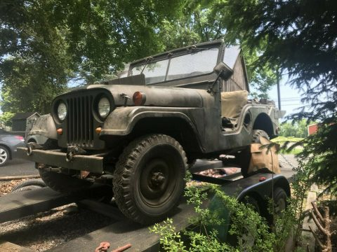 original shape 1953 Willys M38 A1 offroad for sale