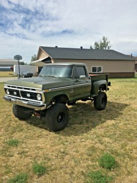 very solid 1976 Ford F 100 Ranger offroad for sale
